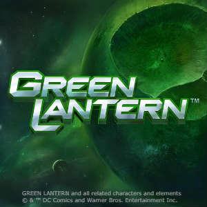 Green Lantern™ Slot Logo