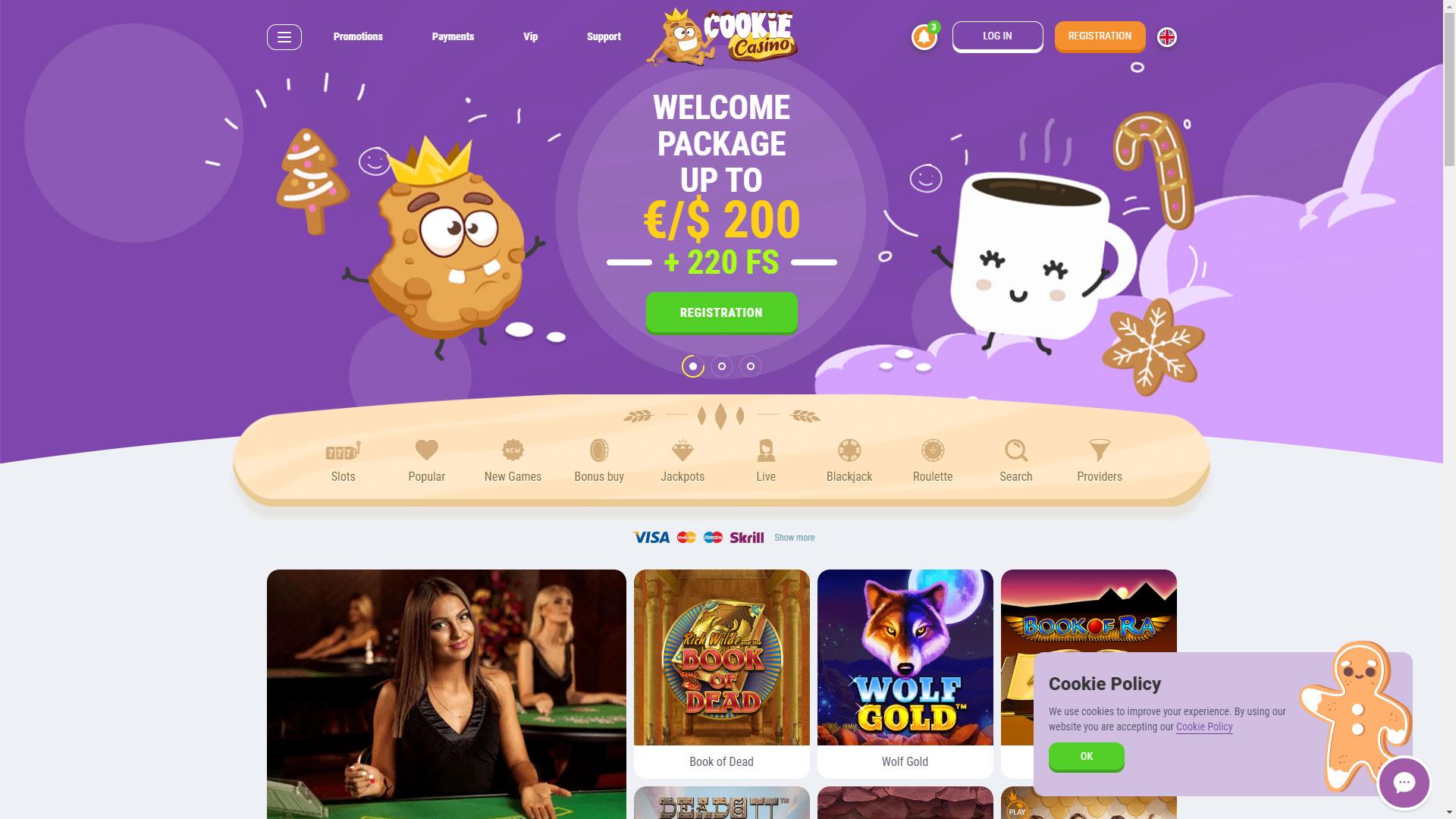 Cookie Casino screenshot